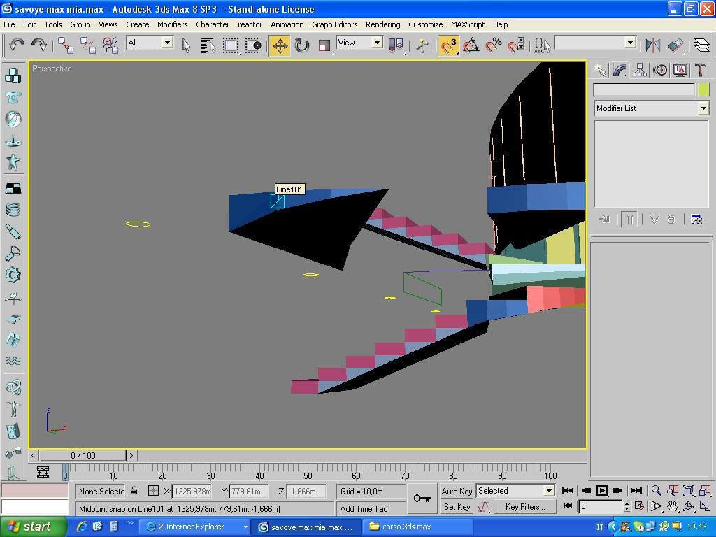 Scala a chiocciola in muratura modellazione for Scala a chiocciola 3d