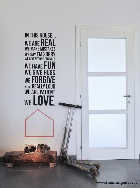 Inserimento scritte sul muro texturing and shading il portale italiano sulla - Scritte sulle pareti di casa ...