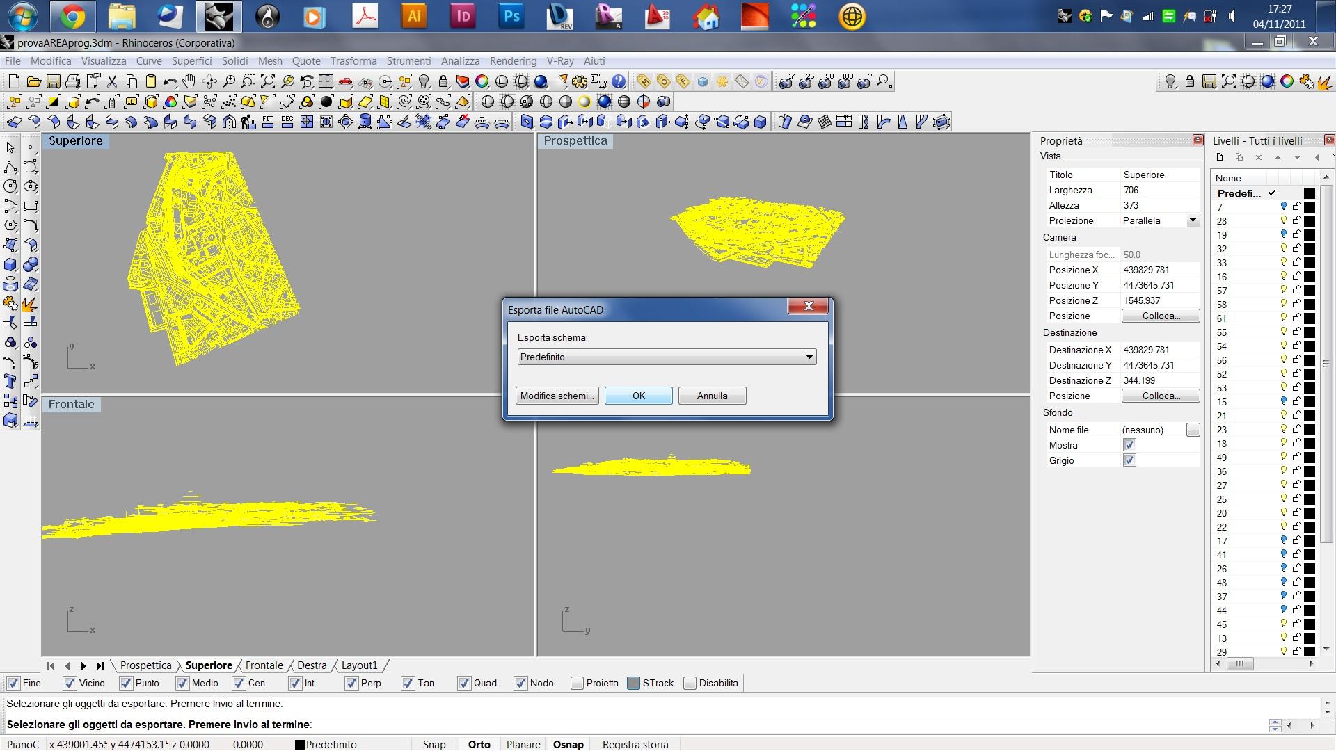 Autocad rendere piano un progetto 3d autocad e for Cad 3d free italiano