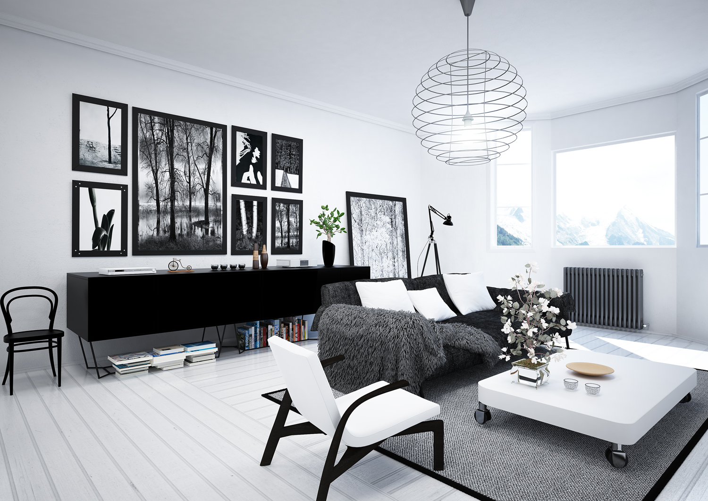 Nordic Living Room Final Architettura E Interior