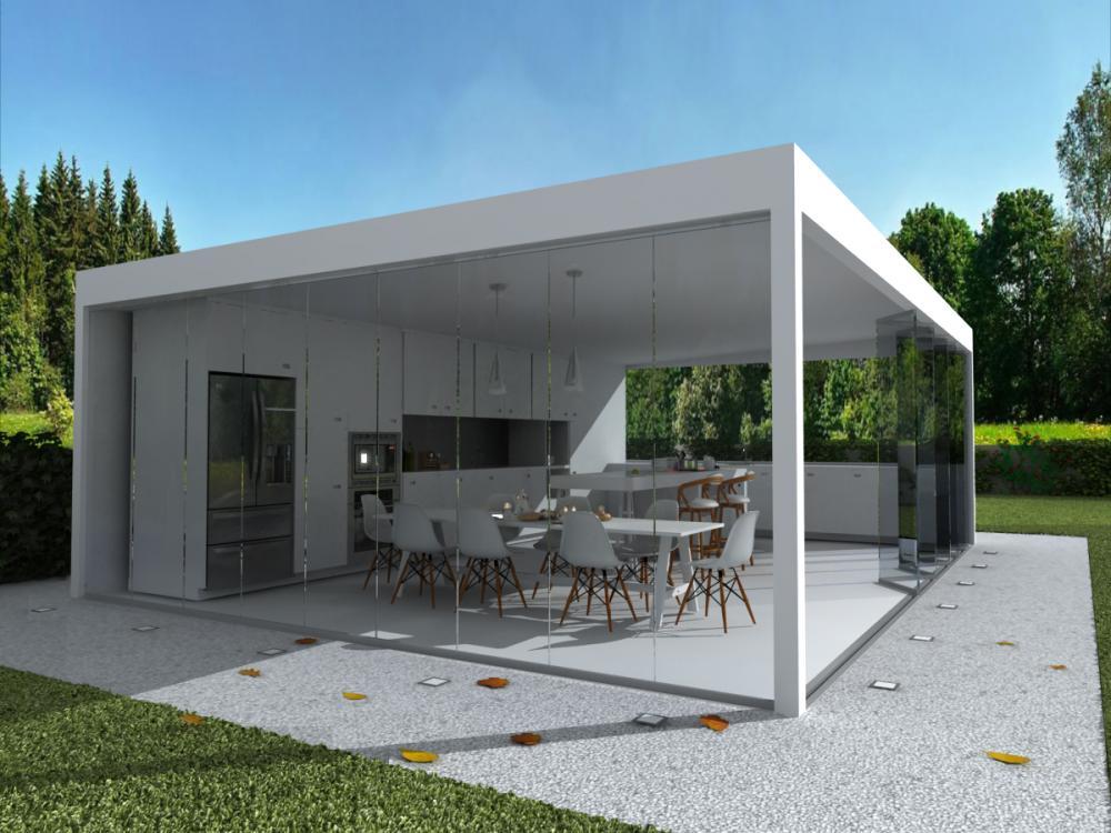 2b-cucina - vista laterale sn-vetri chiusi lato-vetri aperti fronte.jpg