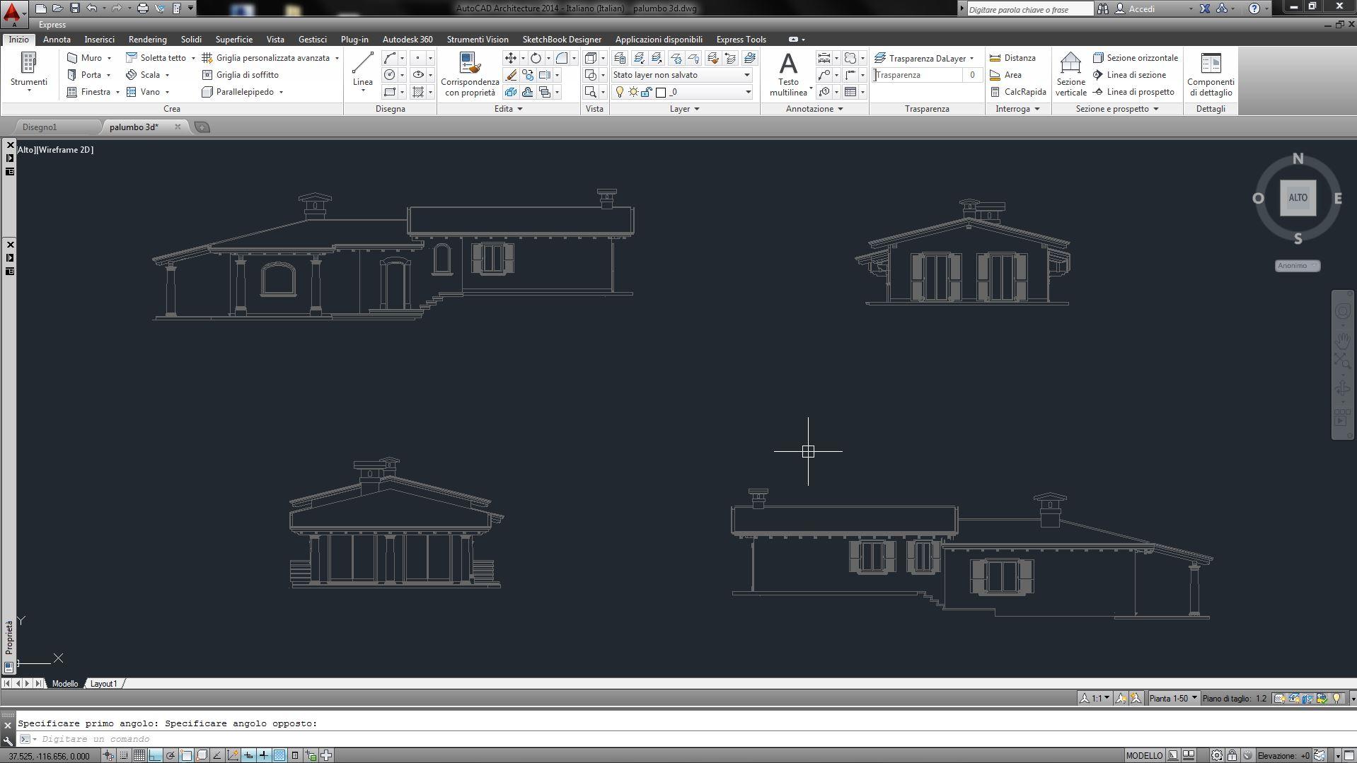 3d architettonici da autocad a 3ds max - 3ds max