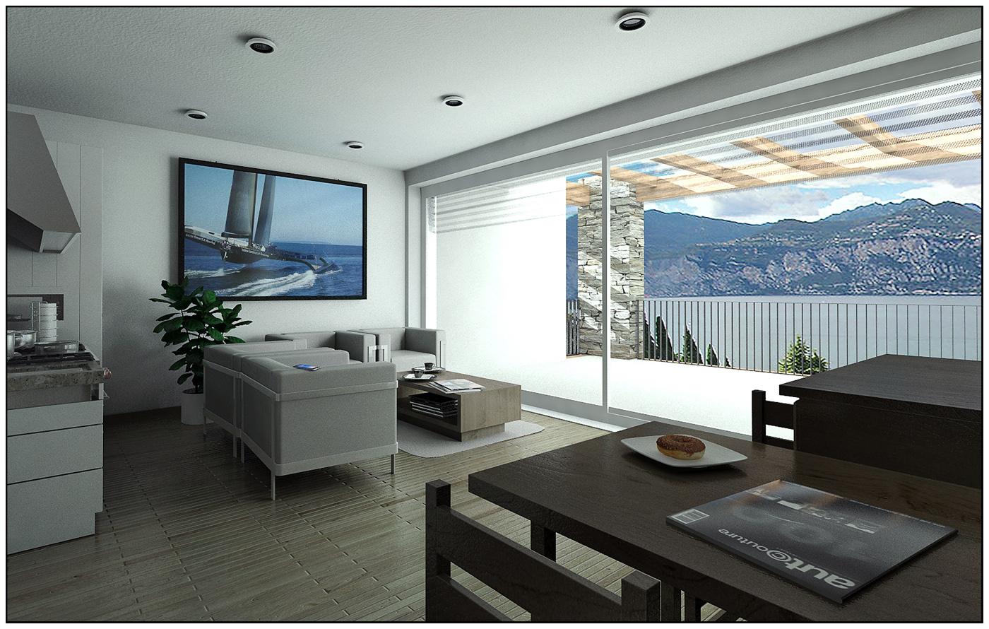 Appartamento vacanze Lago di Garda - [FINAL] Architettura e Interior ...