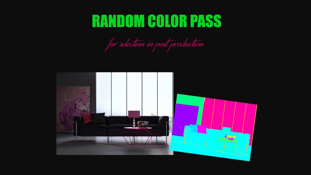 Creare un Random Color Pass