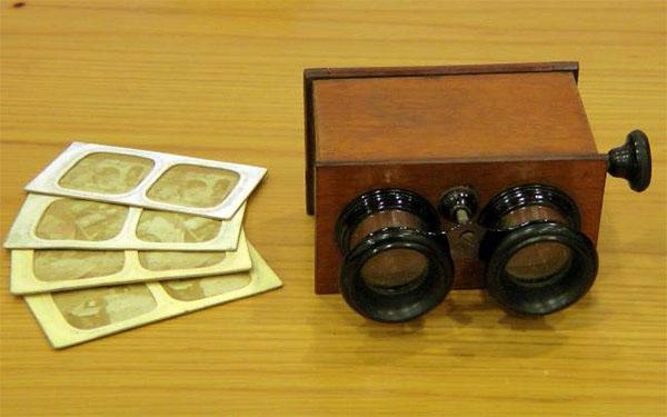 Speciale stereoscopia stereoscopia 3d - Stereoscopio a specchi ...