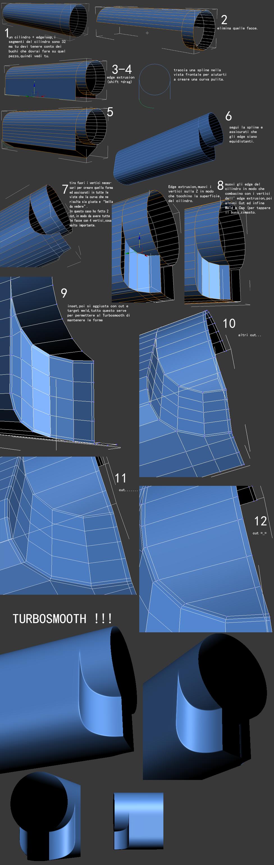 Trucchi di modellazione in 3dsmax parte 2 for Modellazione 3d gratis