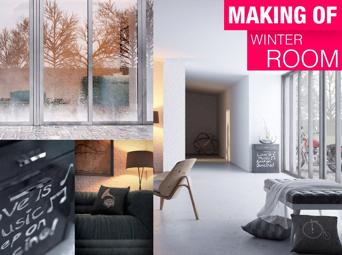 making of winter room
