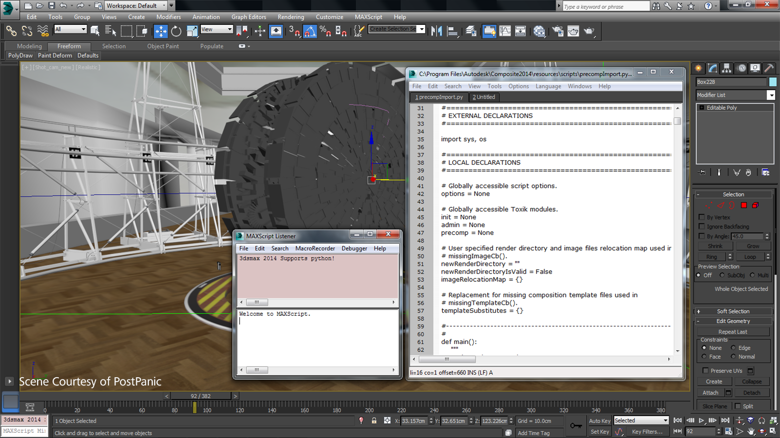 3ds max 2014 ext 1 python