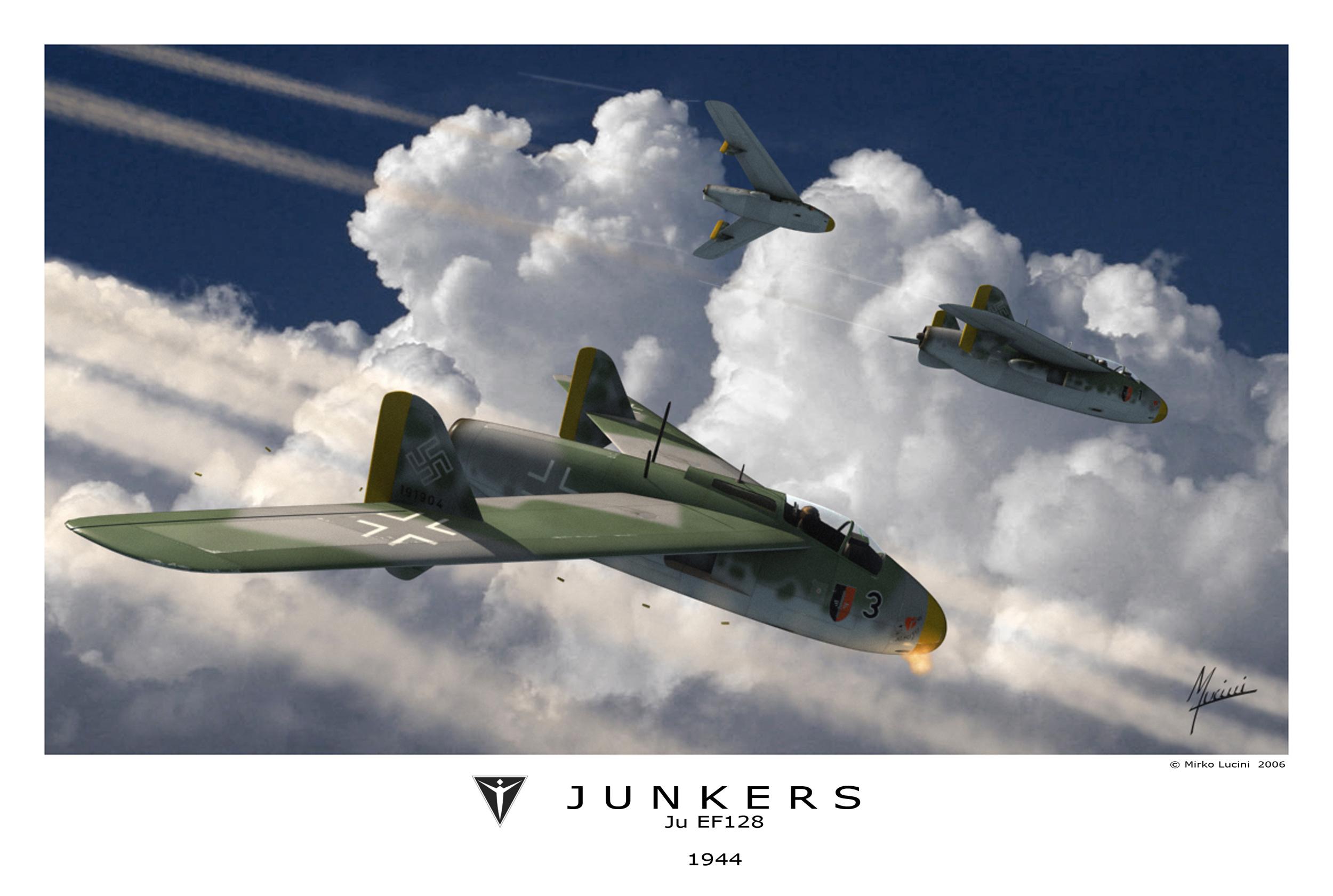 Junkers JU EF-128 - Luc