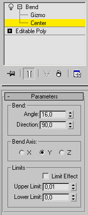 Grass Bend Parameters