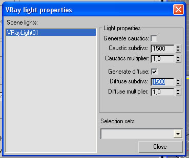 Vraylight diffuse