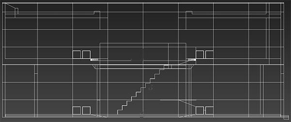 Azuma house tadao ando dal blueprint al fotorealismo for Produttore di blueprint piano piano