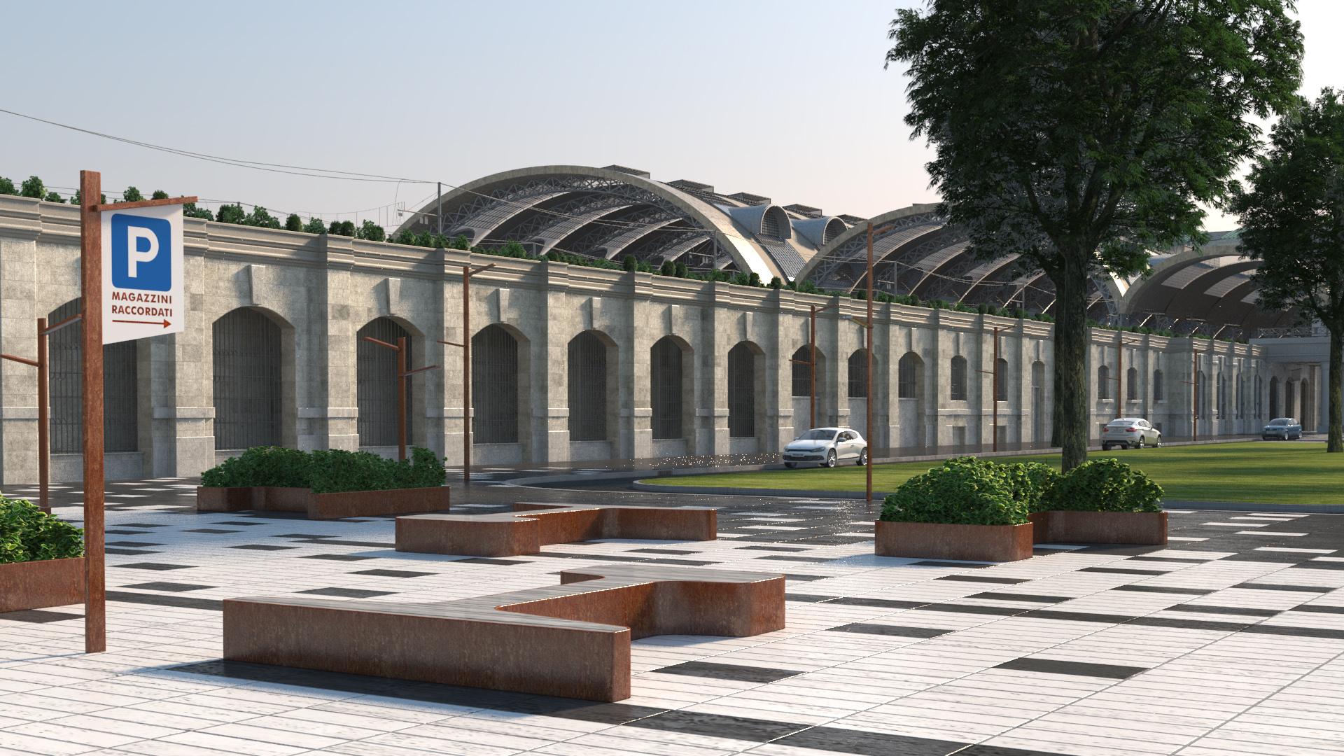 Milano stazione centrale final architettura e interior for Architettura e design milano
