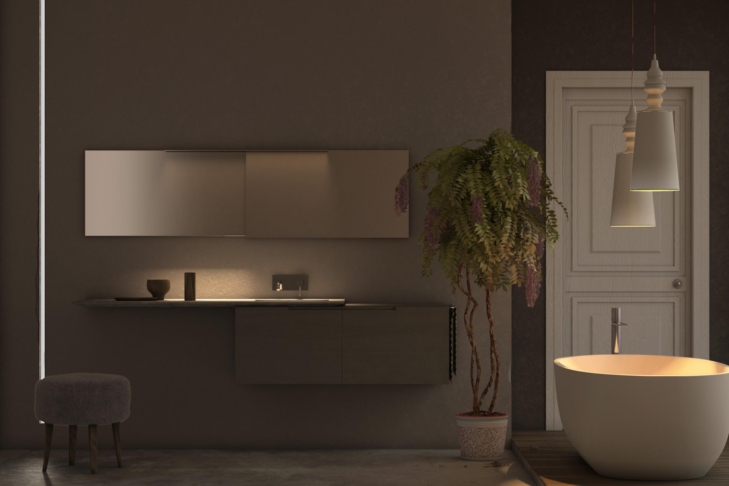 Prova illuminazione hdri [final] architettura e interior design