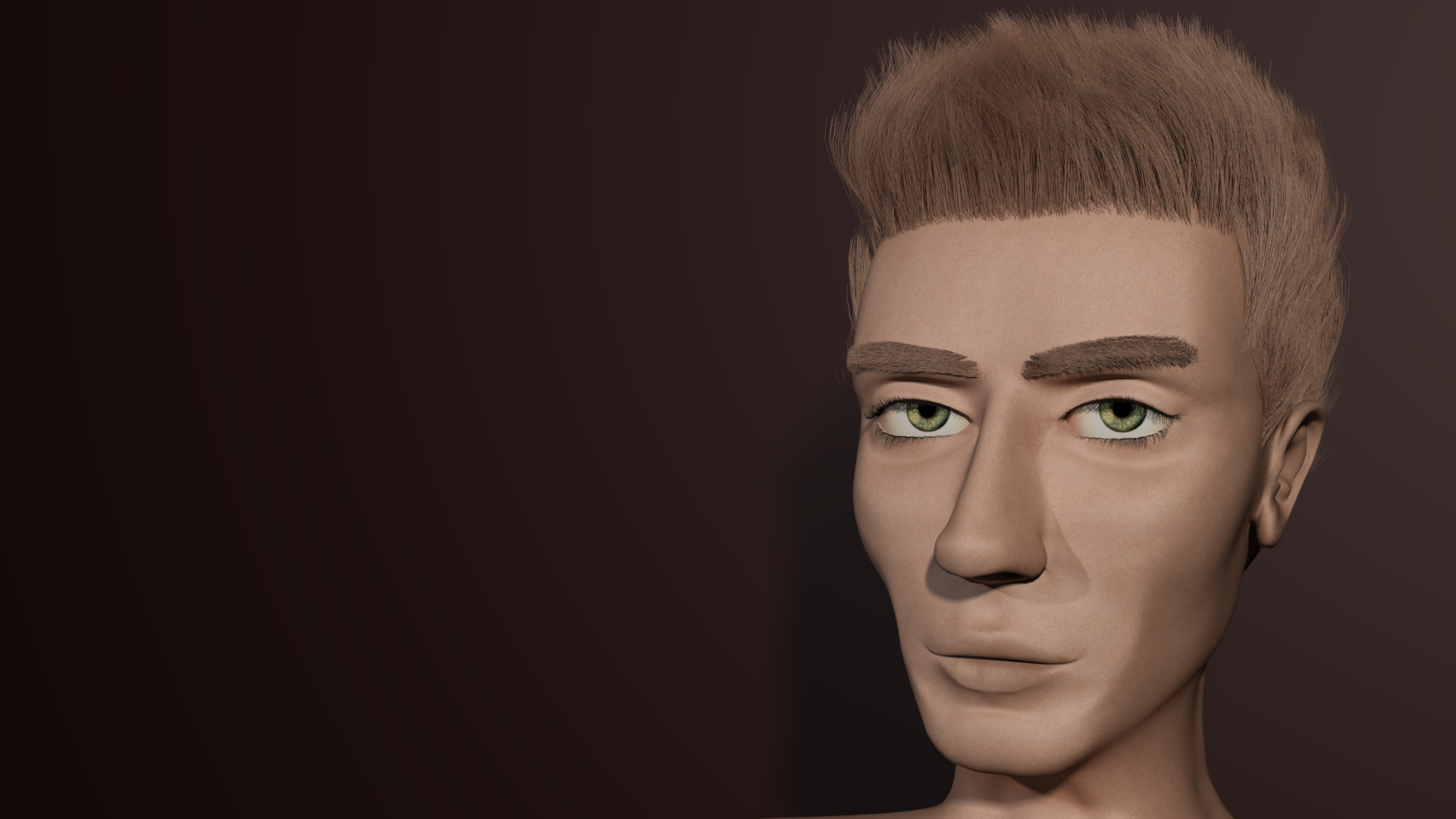 Face modeling final immagini cg vfx il for 3ds max face modeling