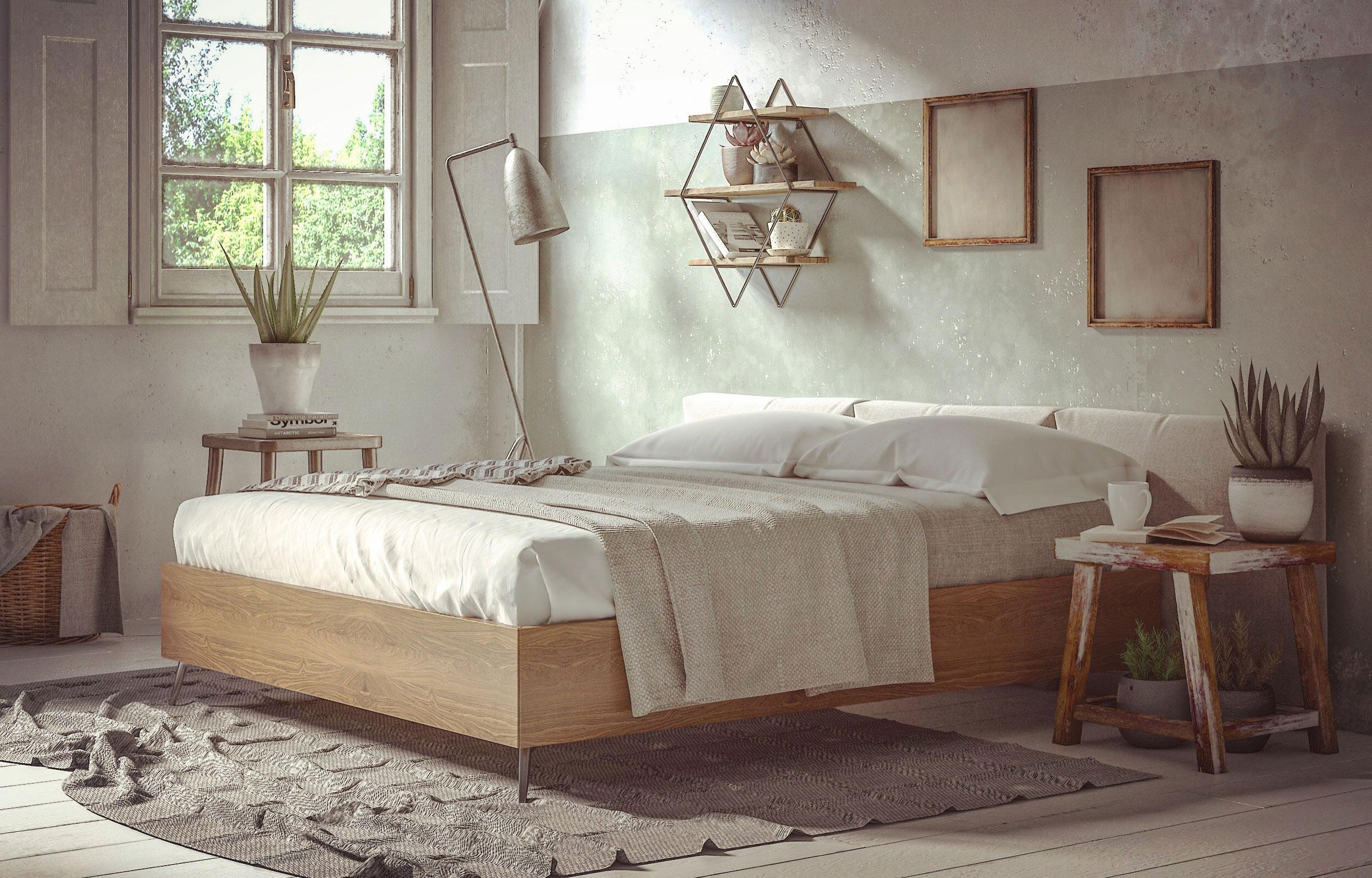 Boconcept Bedroom scene Vray Next - [FINAL] Architettura e