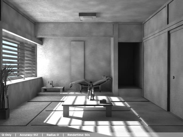 Interior Lighting In Mental Ray Generale Il Portale Italiano Sulla Grafica 3d